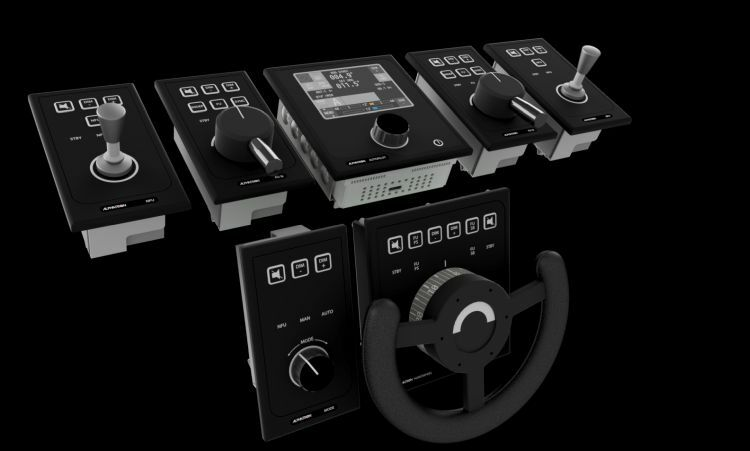 AlphaPilot MFM is an intelligent and scalable bridge system for heading and steering con