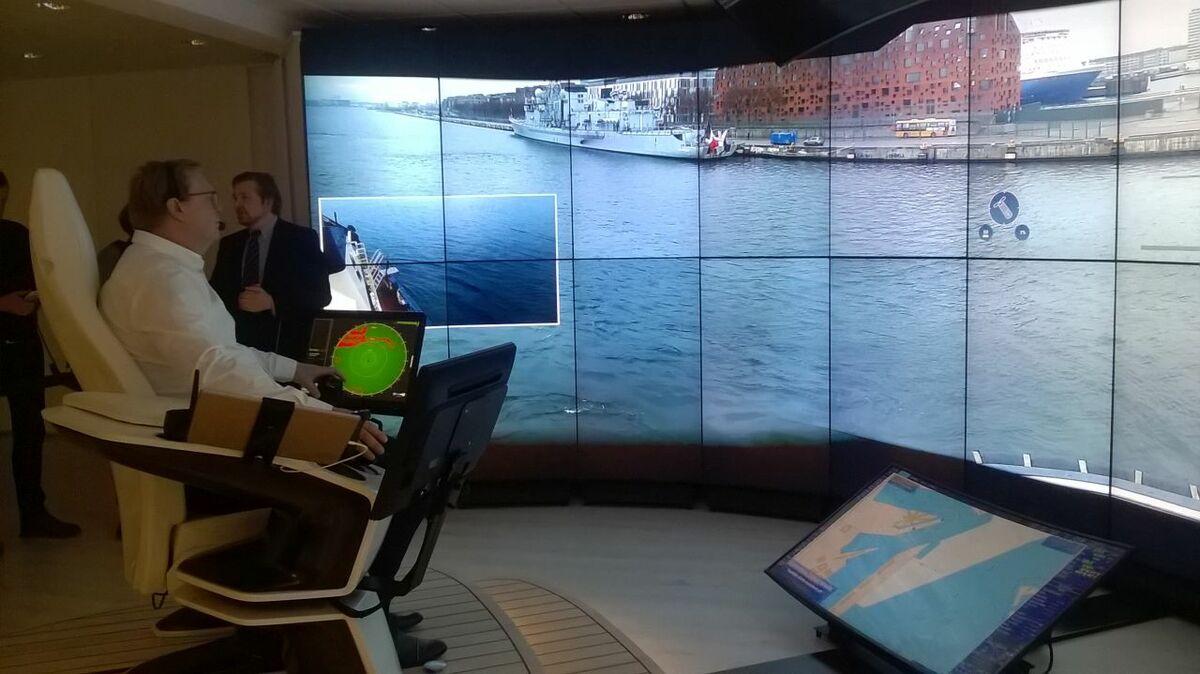 Maersk leads remote navigation trials