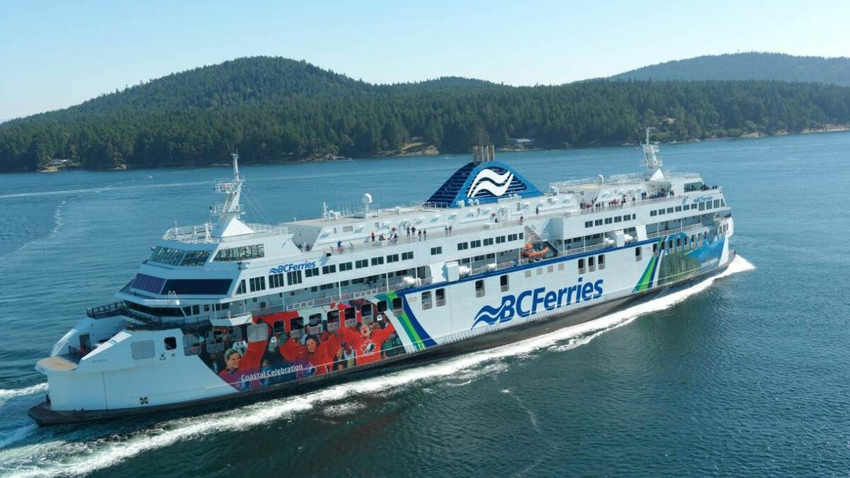 BC Ferries boosts transparency by launching e-logbook