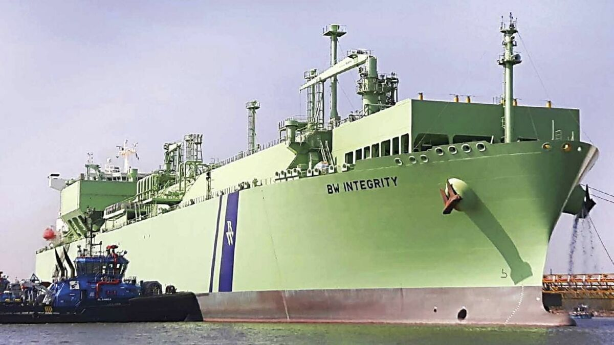 Pakistan's second LNG import is anchored by the FSRU BW Integrity, with a 5 mta capacity
