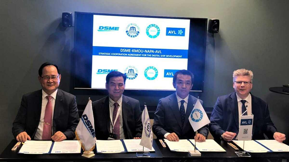 South Korea takes smart ship technology leap