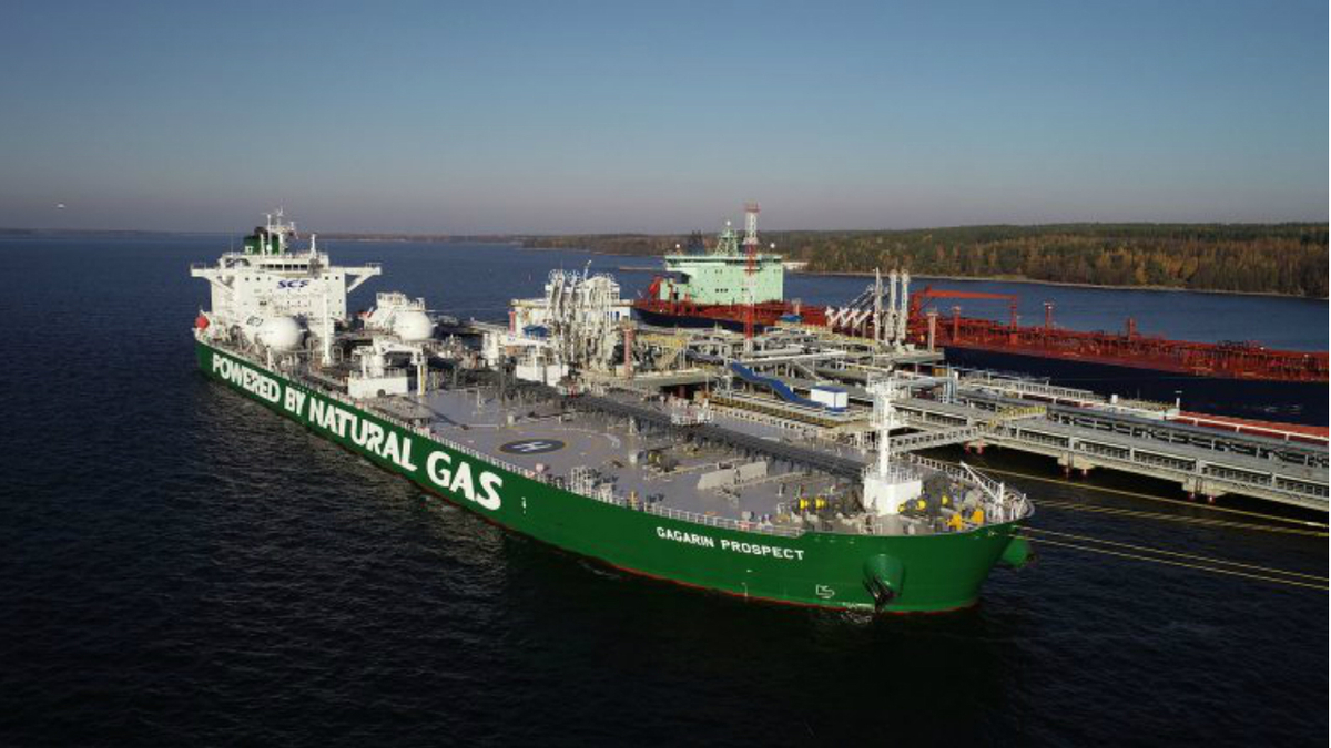 Sovcomflot LNG-fuelled tanker honoured at Nor-Shipping
