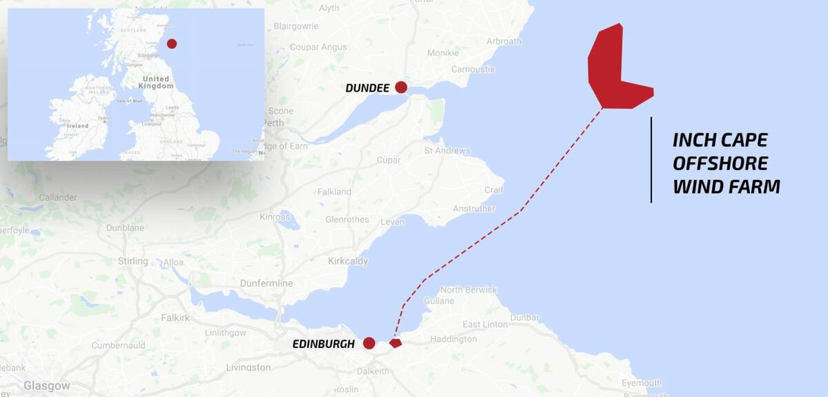 Scottish Government allows larger turbines at Inch Cape project