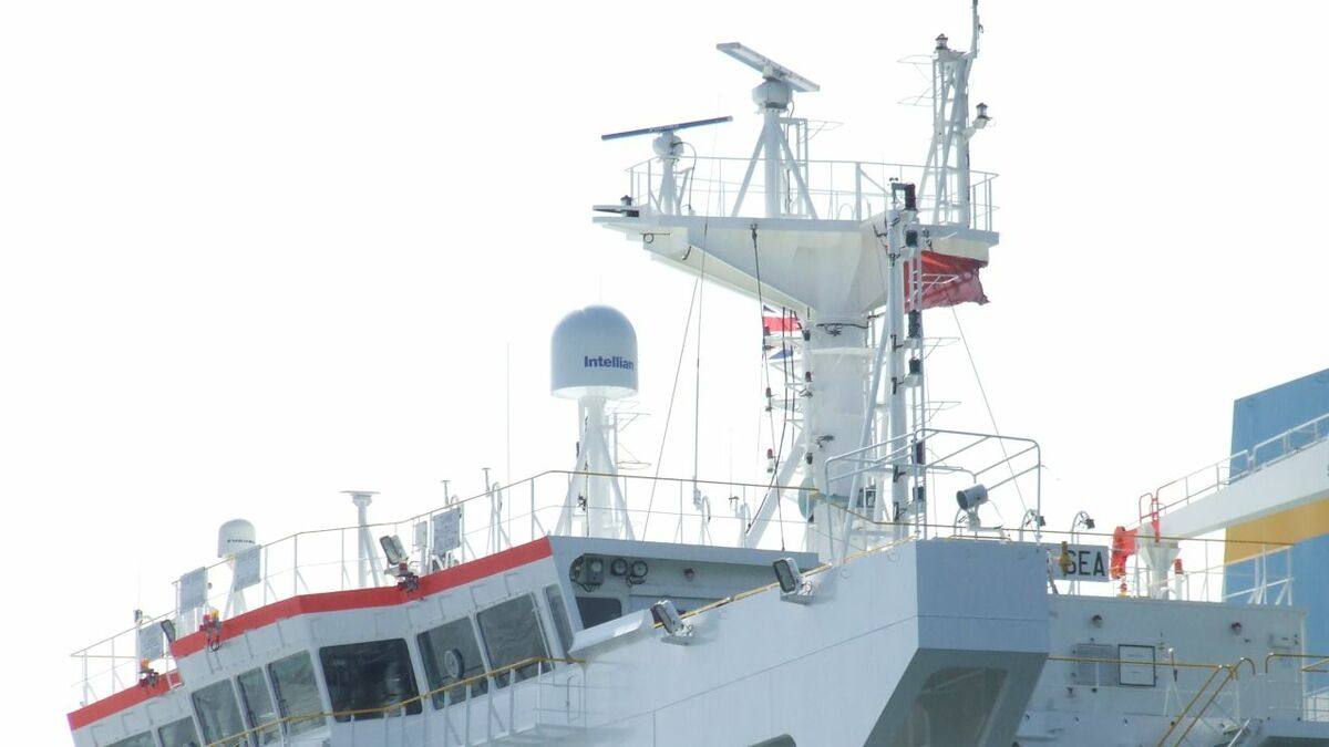 VSAT antennas provide the connectivity to bridge systems on tankers