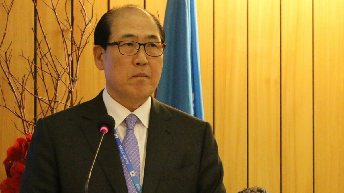 IMO secretary general Kitack Lim: seafarers 'on the front line' of pandemic
