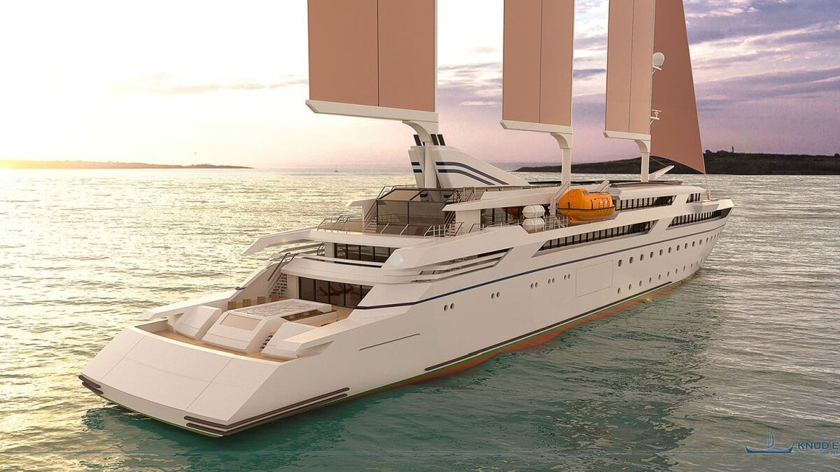 Wind-powered cruise ship design launched