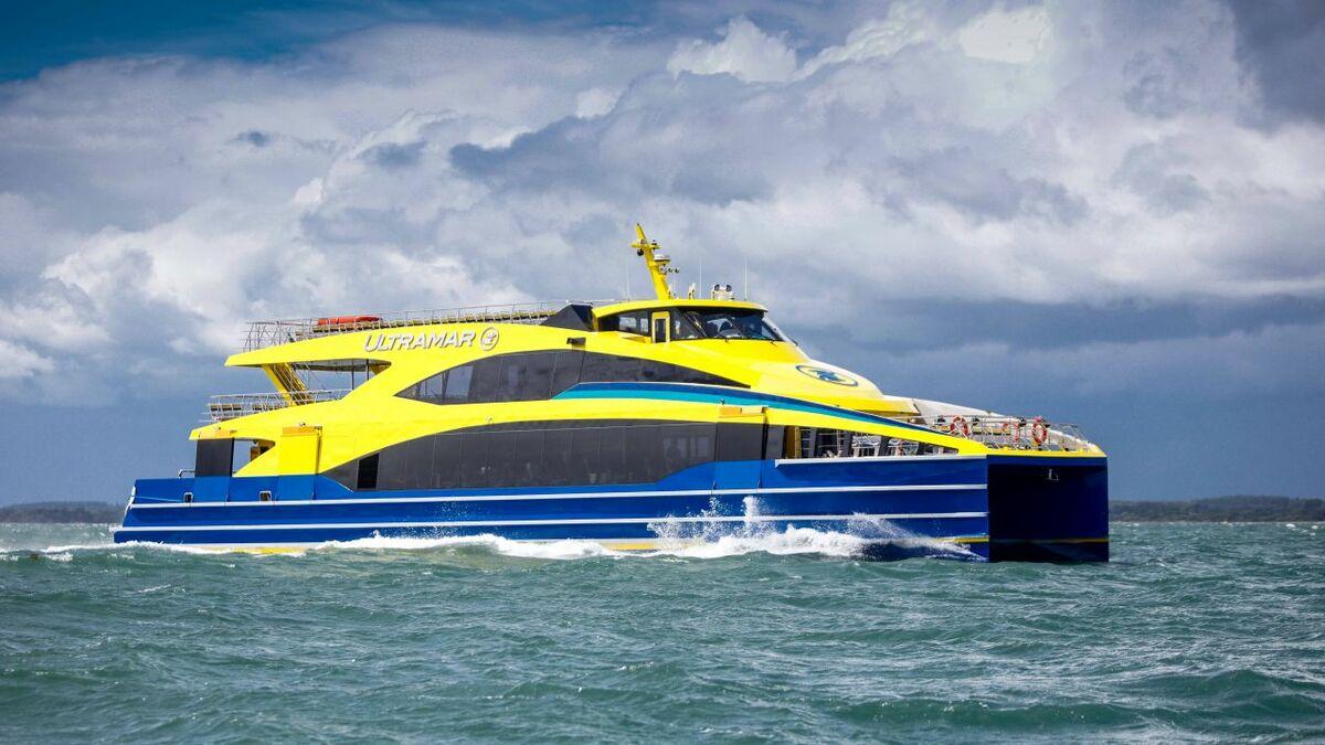 Weight-saving success for Ultramar's new fast ferry