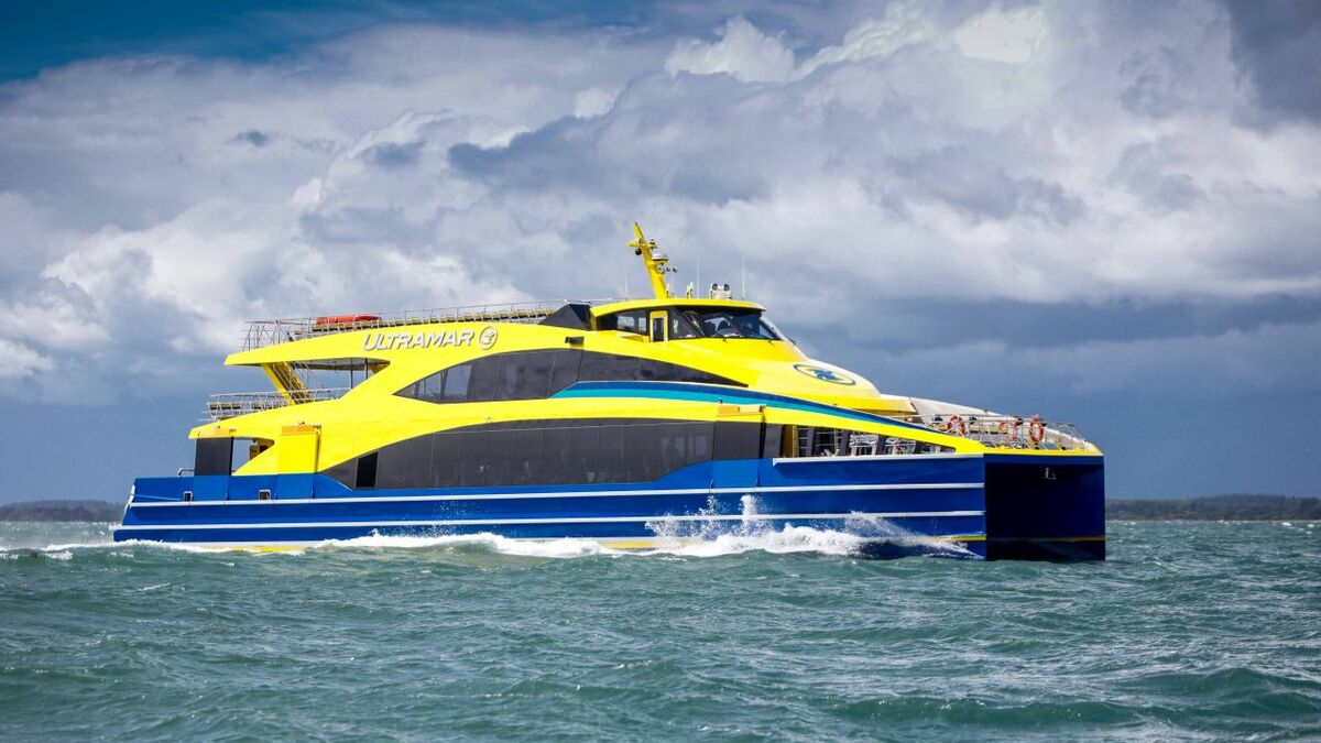 Ultramar is set to boost its fleet with a new, ultra-light, fast ferry