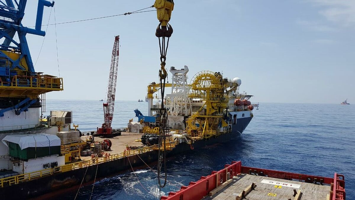 VOS fleet supports Egyptian gas field development
