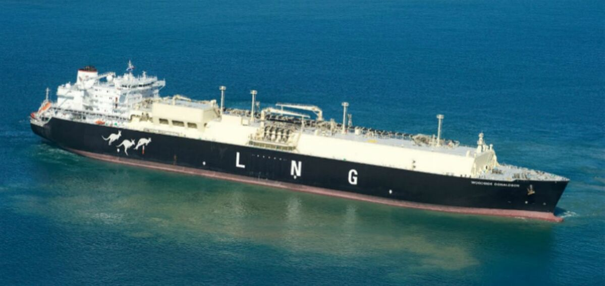 Woodside-Donaldson-LNG-carrier
