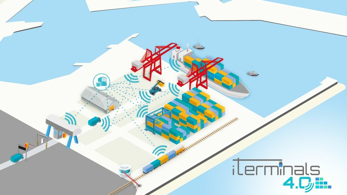 iTerminals will boost big data use among box ship ports