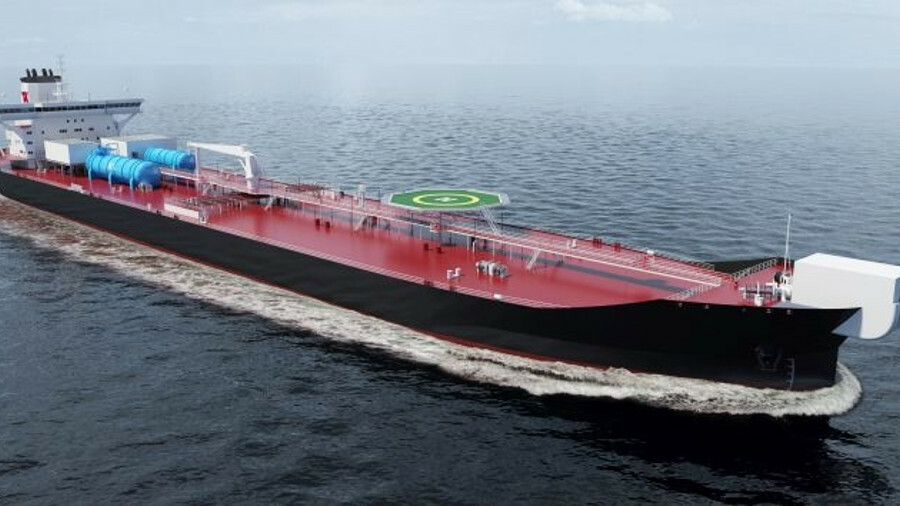 Teekay's new shuttle tanker design cuts emissions both from the funnel and from the oil cargo