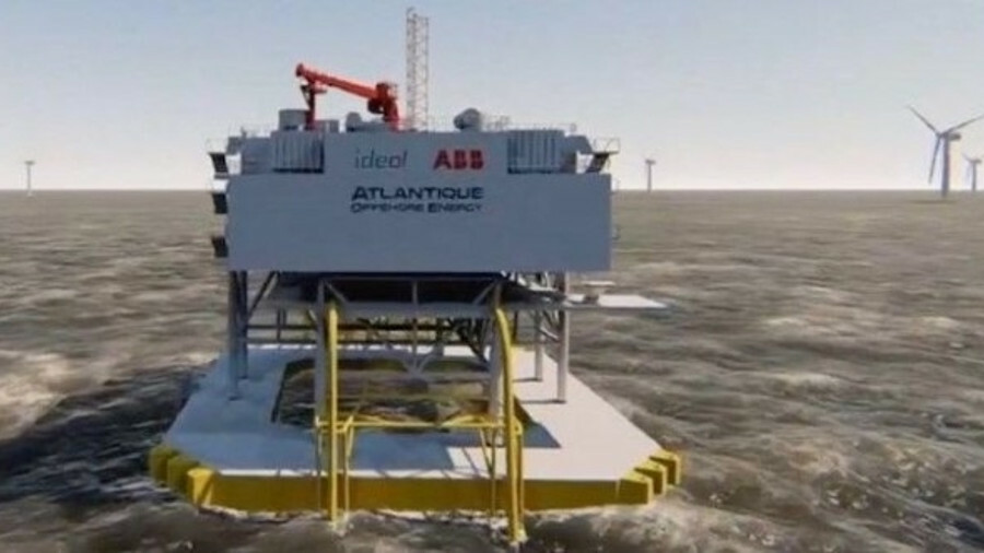 Ideol and AOE say their floating substation concept is market ready