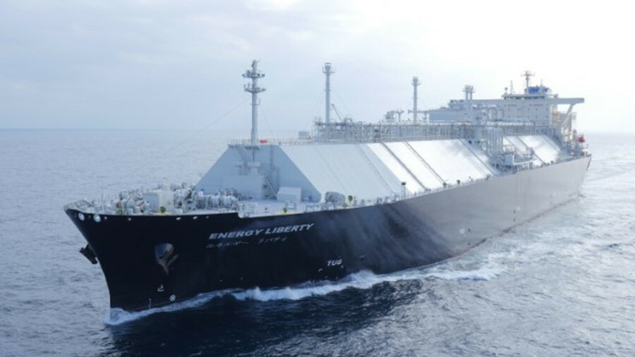 Energy Liberty is the first LNG carrier built with SPB cargo containment system in 25 years