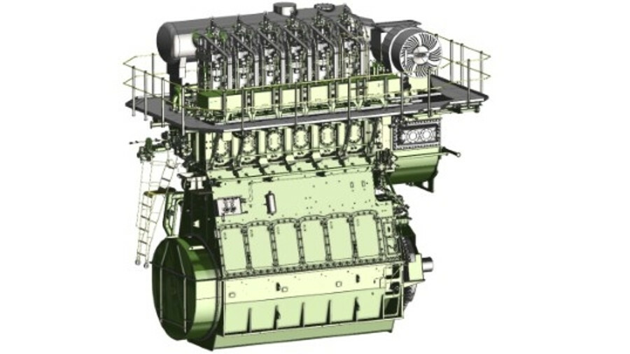 The X40DF serves a niche for smaller dual-fuel vessels such as small chemical tankers