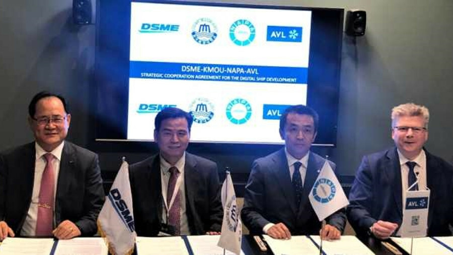 South Korean partnership to develop intelligent ships