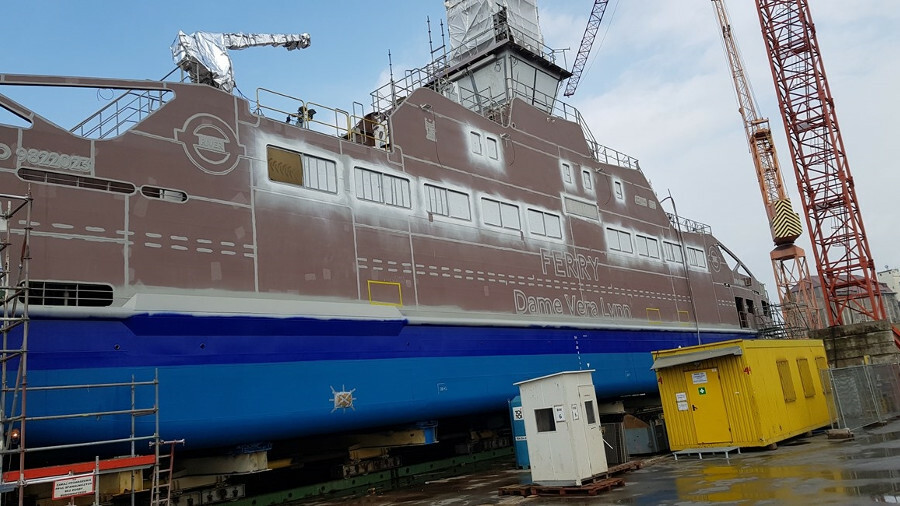Bringing batteries to London's ferries