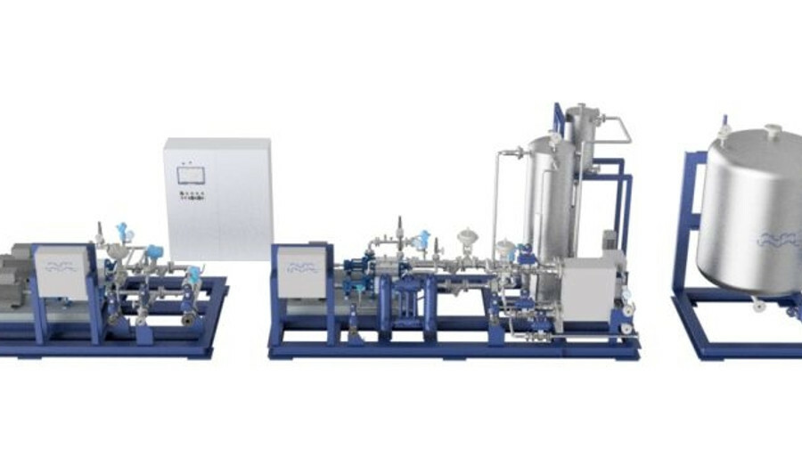 X A two-stage filtration process will remove the expected high level of solid contaminants in LPG fu