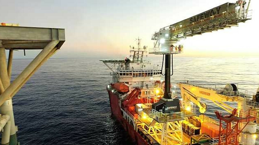 Walk-to-work systems bring efficiencies to offshore maintenance