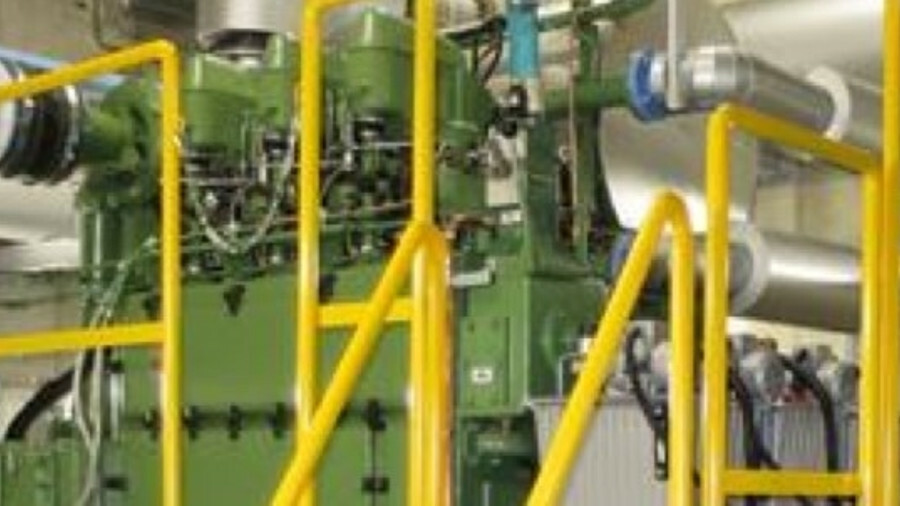 X A Bolnes 3DNL two-stroke test engine was used by JXTG Nippon Oil & Energy Corp to trial fuel-effic
