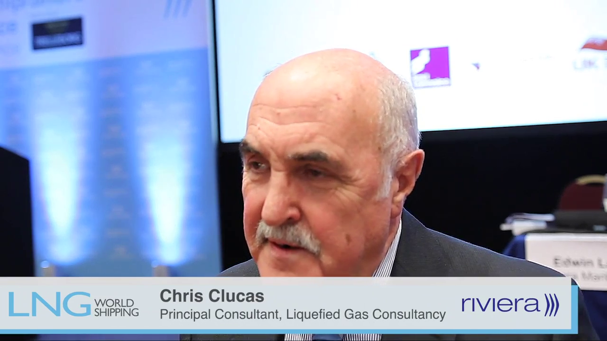 LNG Ship/Shore Interface Conference overview from chairman Chris Clucas