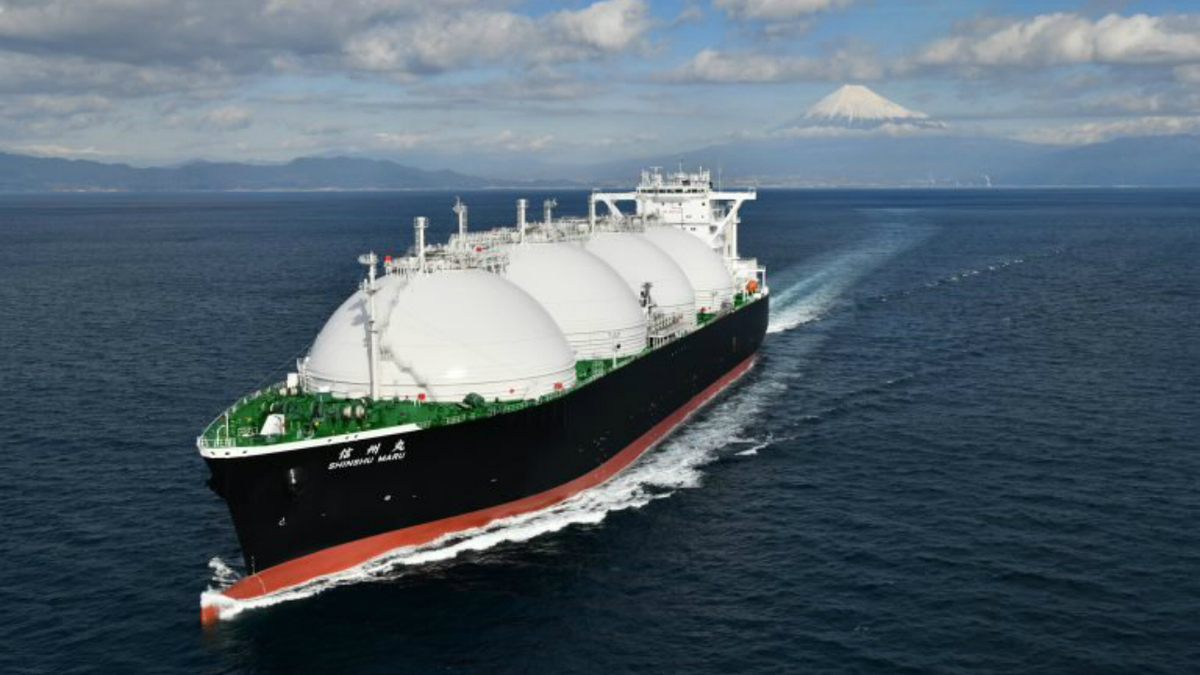 DFDE LNG carrier for Japanese joint venture