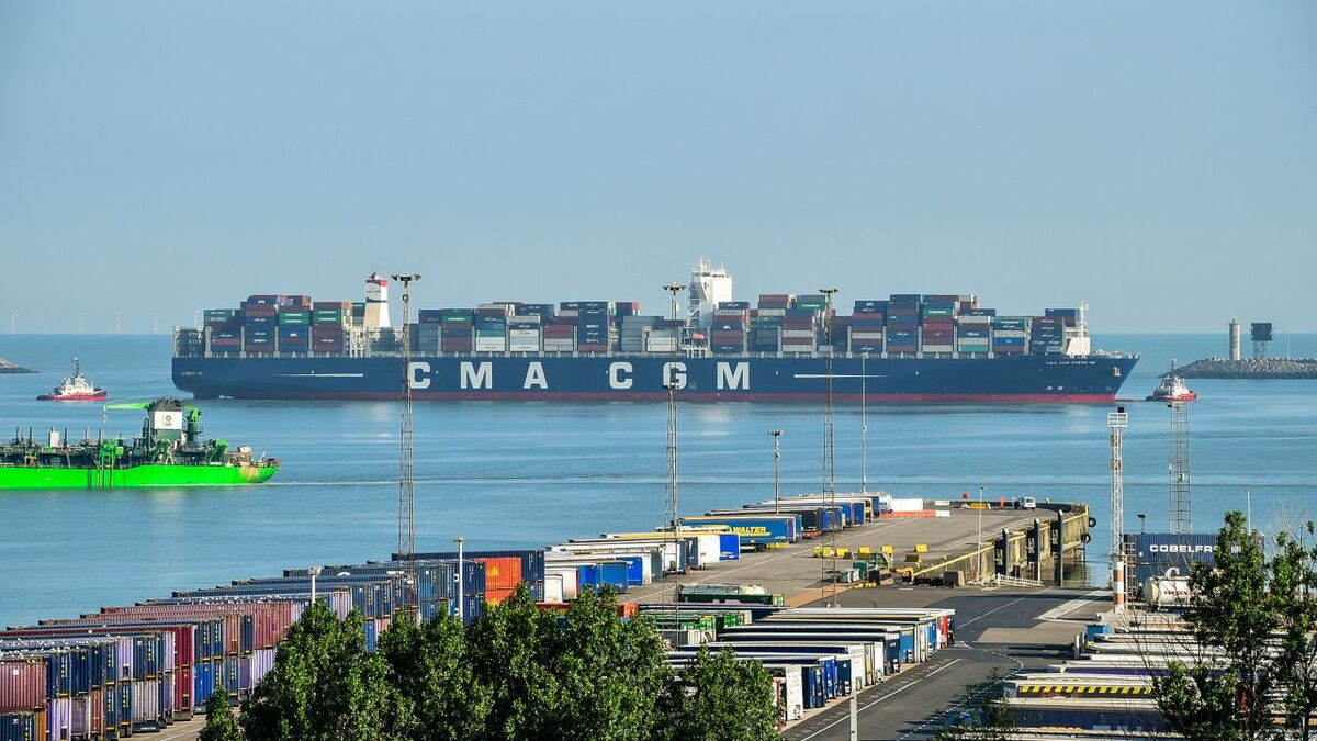 CMA CGM's rail service lowers carbon impact and strengthens intermodal links