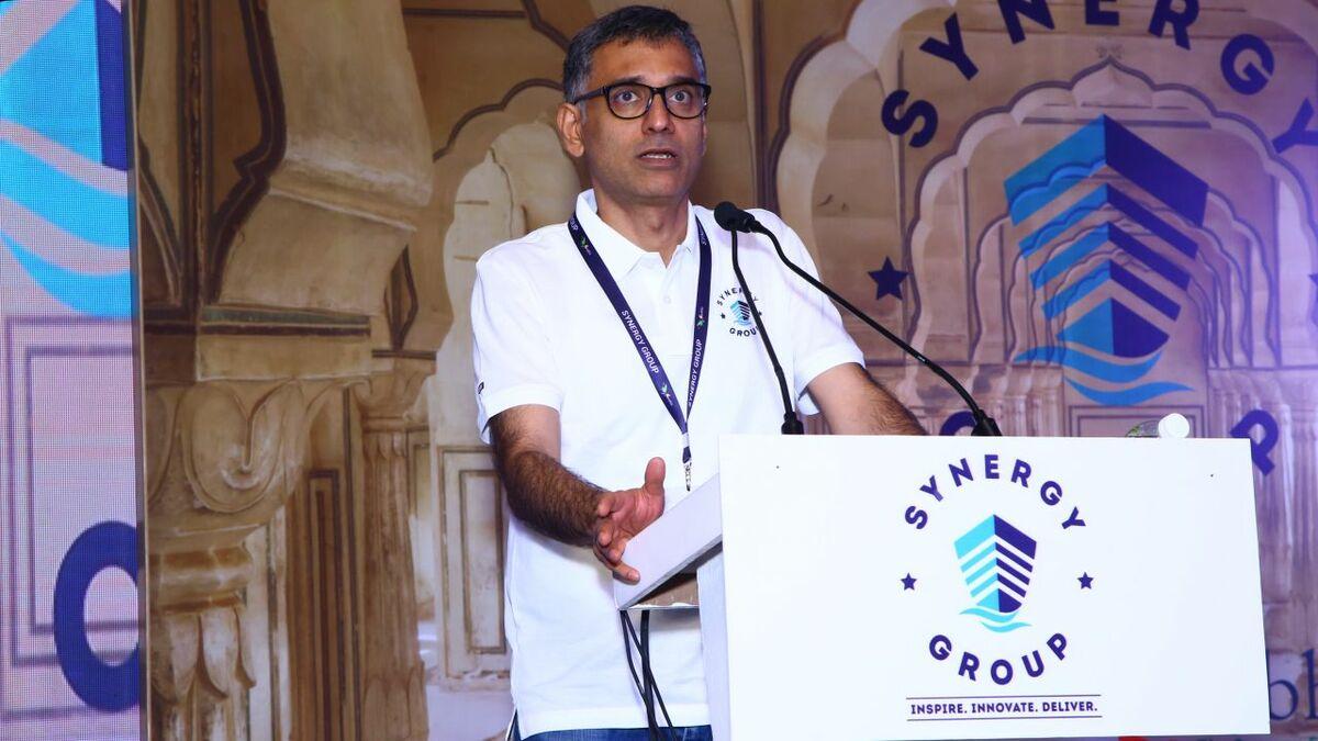Capt Rajesh Unni at the Surabhi Synergy Festival 2018