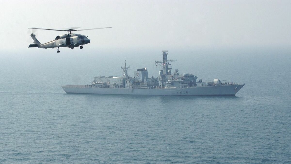 UK warship sees off first tanker seizure attempt in Middle East Gulf