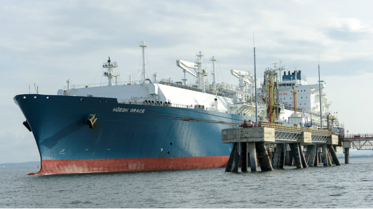 Höegh LNG owns 10 FSRUs, including the Höegh Grace that operates in Colombia (image: Höegh)