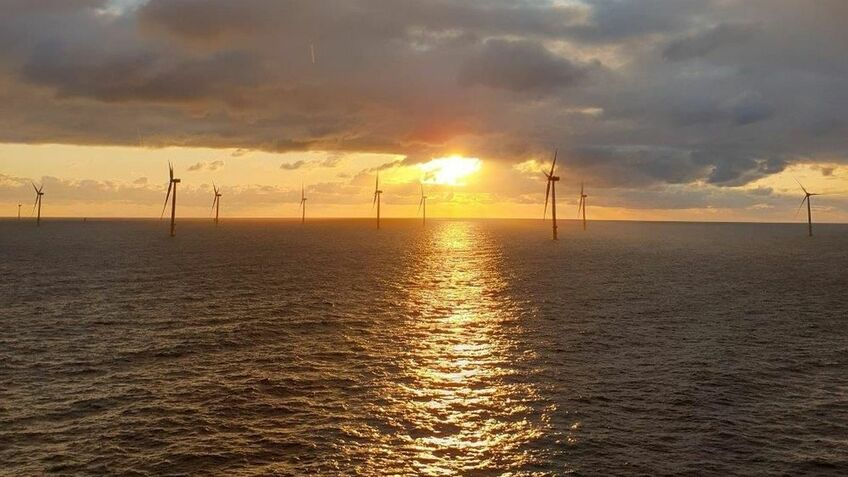 HoheSee offshore windfarm in Germany has produced first power