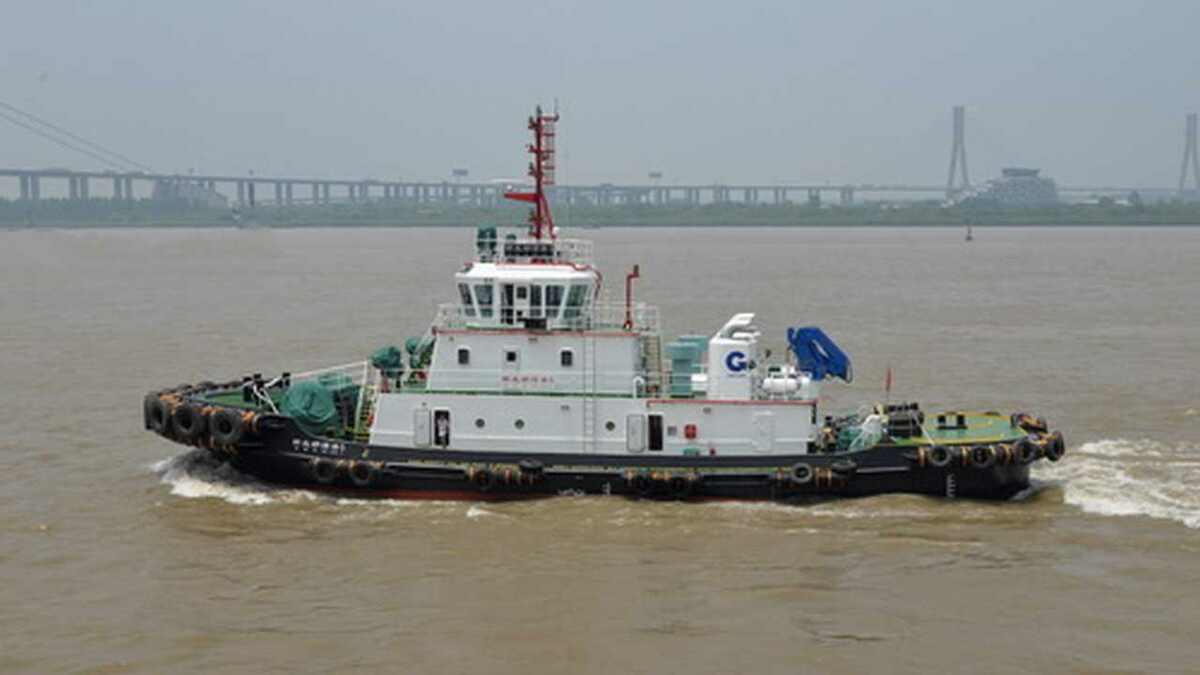 Zhenjiang Shipyard built tug Xin Beibuwangang 5