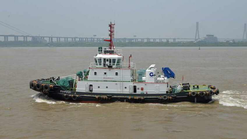 Two tugs delivered for growing Chinese port