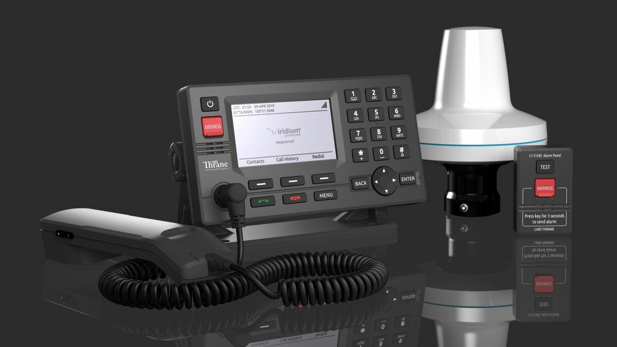 Lars Thrane/Iridium LT-3100S terminal for GMDSS safety communications