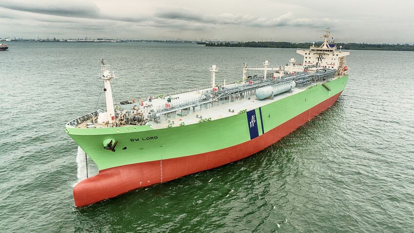 BW LPG Ltd estimates that seaborne LPG movements in 2018 reached 95M tonnes