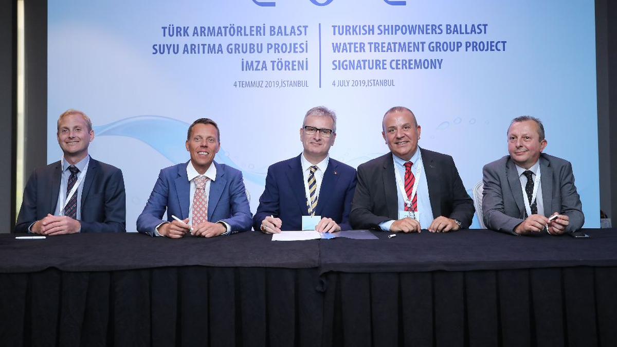 Turkish shipowners' group inks US$22M deal with BWTS provider