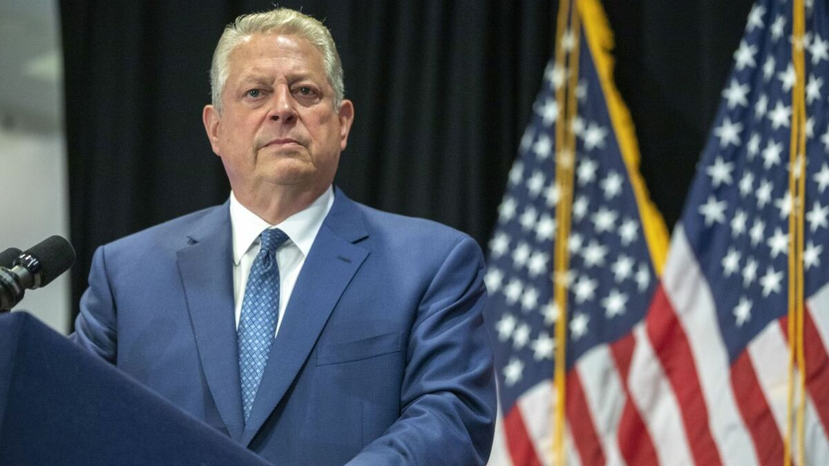 The signing ceremony was attended by Al Gore, a long-time campaigner on climate change