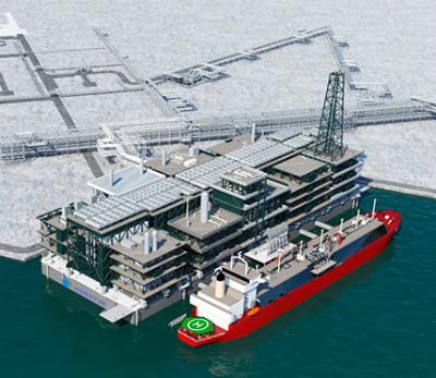 Arctic LNG 2 will use gravity-based structure platforms to decrease LNG production costs