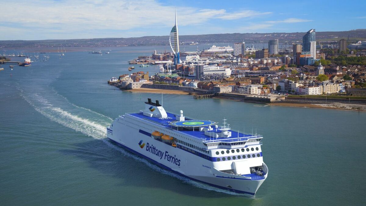 Brittany Ferries to boost fleet with trio of LNG ferries