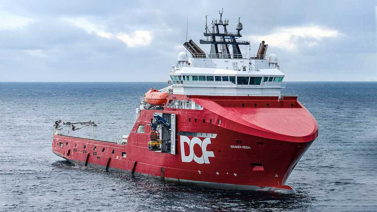 The DSS will likely be trialled on anchor-handling tug supply Skandi Vega and another DOF vessel