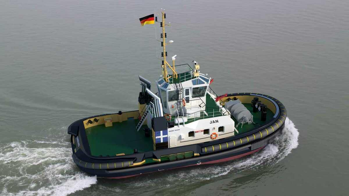 Damen gained orders for its stock ASD tugs, such as Jan for a German owner