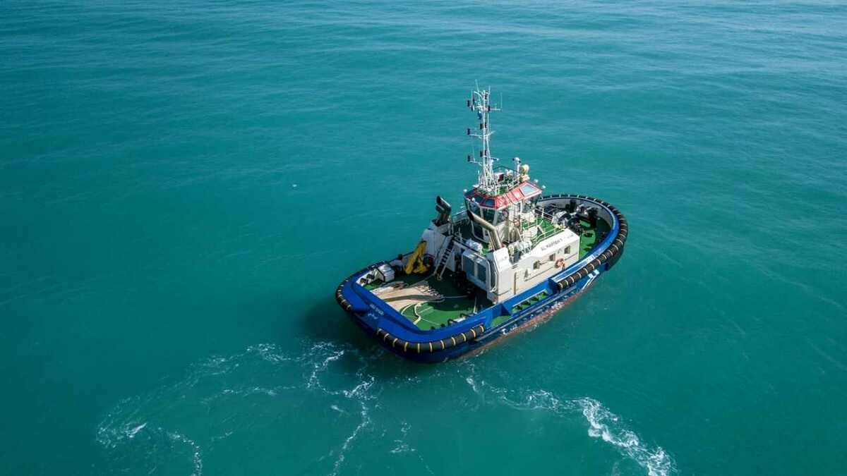 Safeen started operating a Damen-built ASD tug in Abu Dhabi (source: Damen)