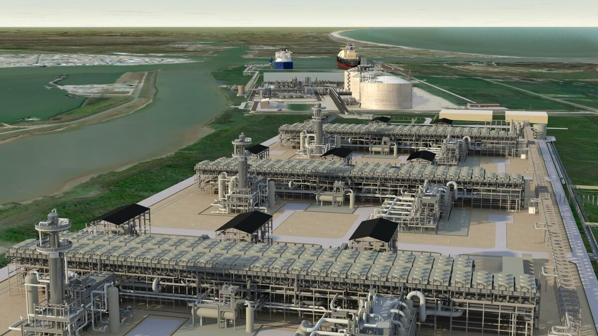 By 2020, Freeport LNG will have three trains with a capacity of 15 mta