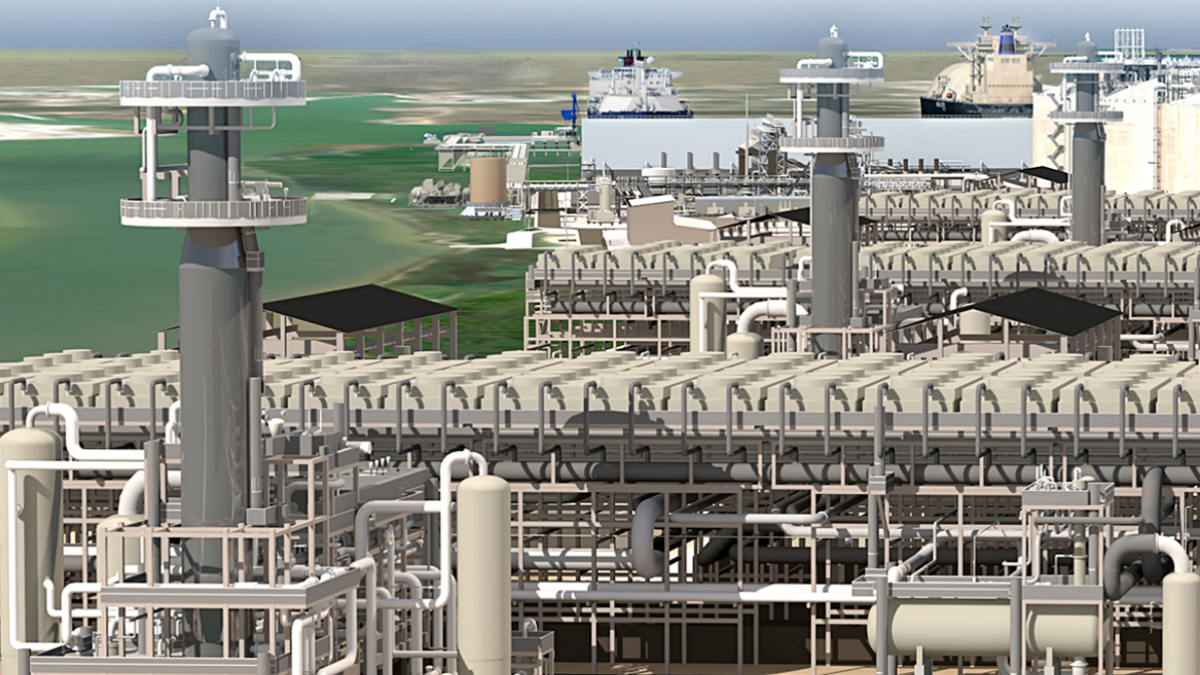 US LNG export facility nears commissioning