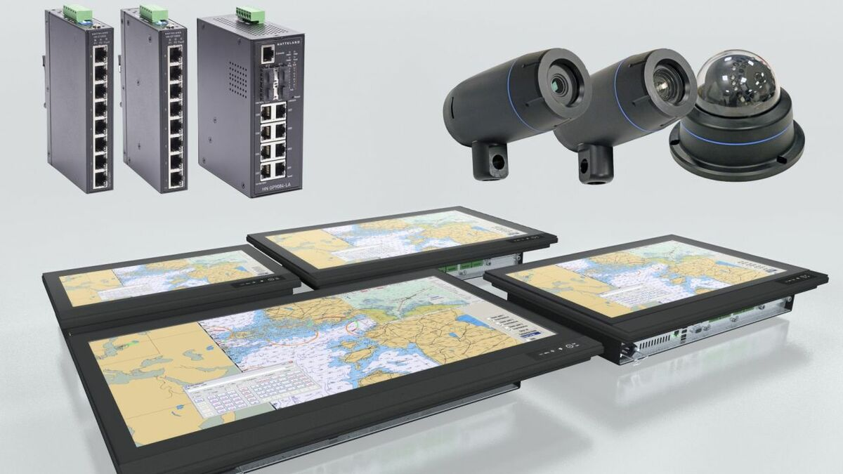 Hatteland's new E-Series panel displays, cameras and switches