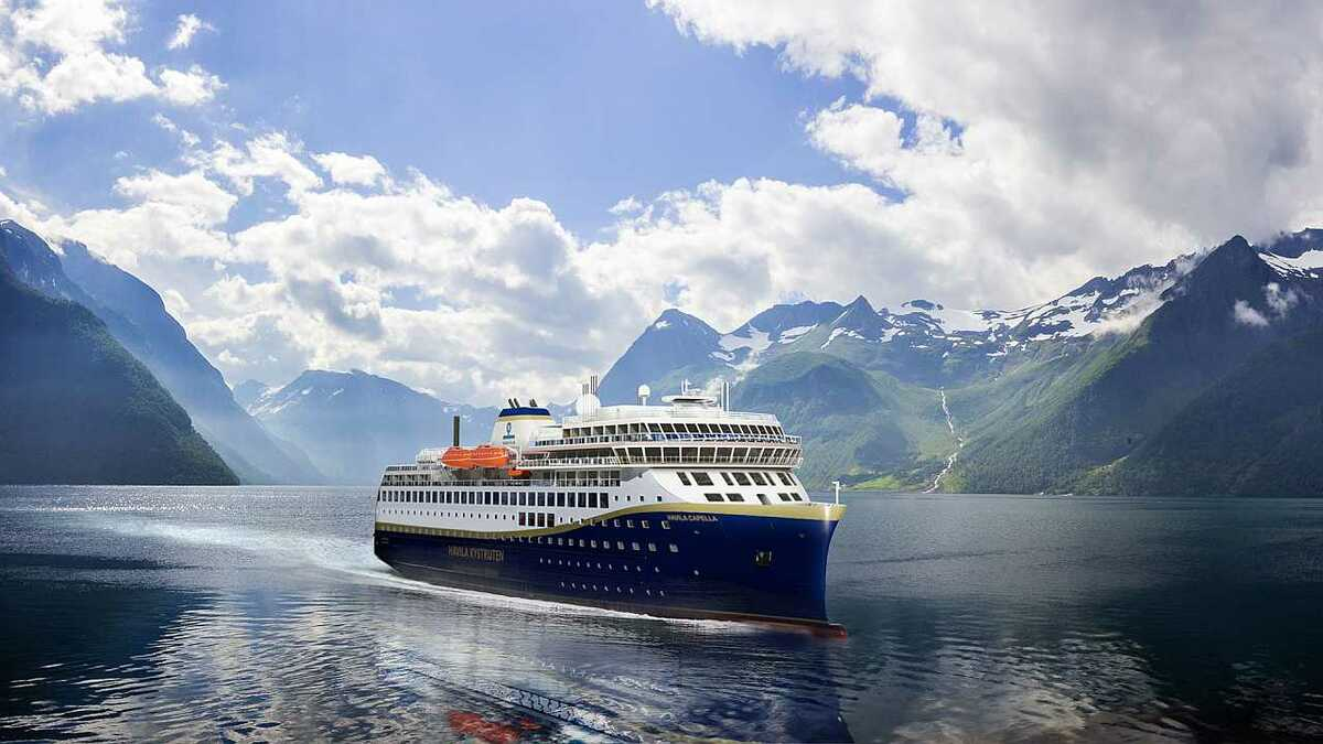 The two ships will operate on the Bergen Kirkenes-route from 2021 on a 10-year contract