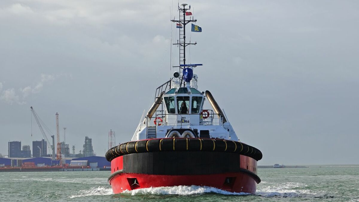 Kotug uses PortX's OptiPort software to optimise in-port vessel operations (credit: Kees Torn/Flickr