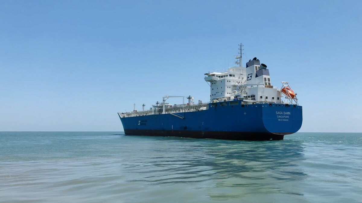New mid-size LNG carrier 'contains' a big innovation