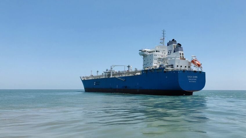 Saga Dawn is the first LNG carrier to be fitted with an LNT A-box cargo containment system