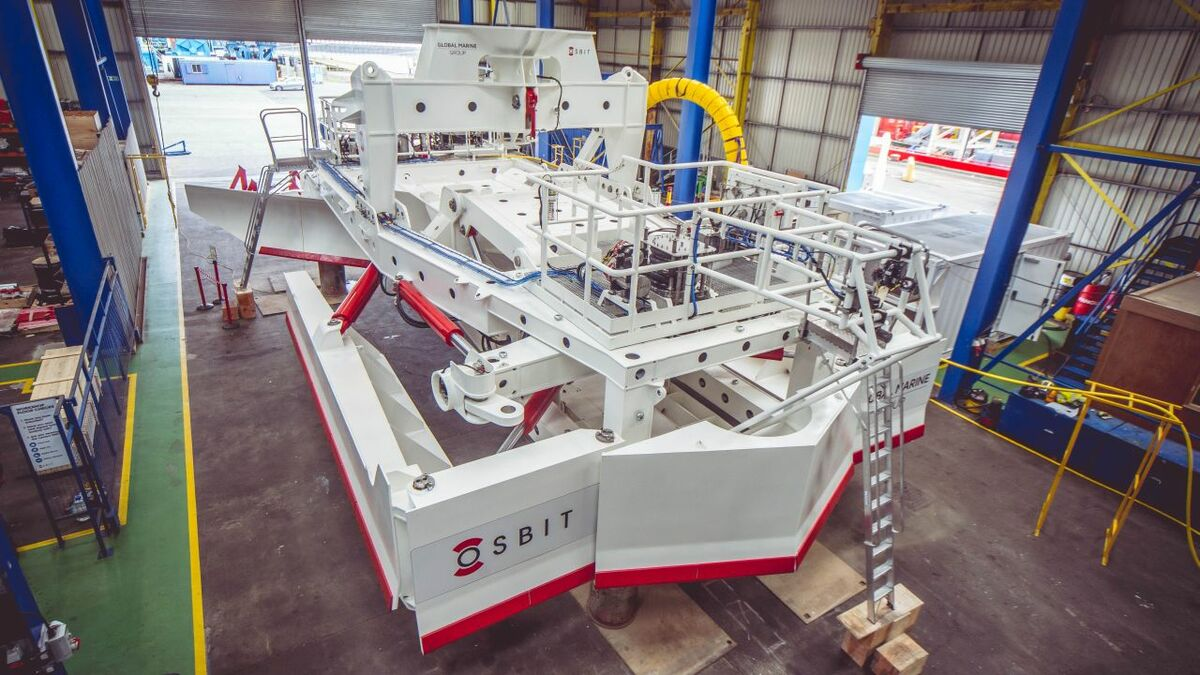 Trenching equipment for offshore wind projects is getting more sophisticated and more powerful